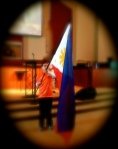 Teens hear about God's work in the Philippines
