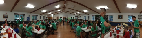 Camp Eating Frenzy!